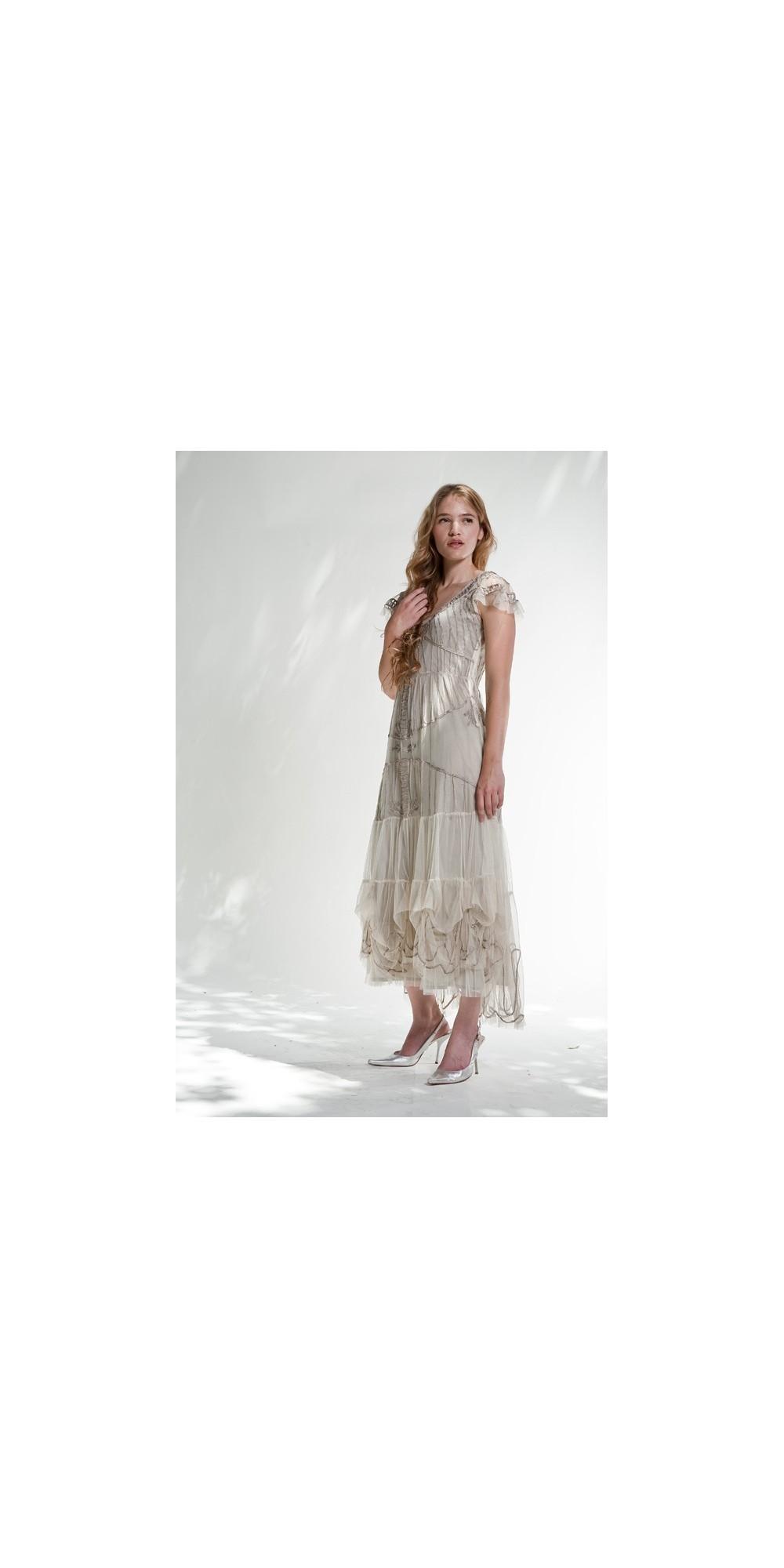 Nataya tulle vintage gothic style wedding dress for Gothic style wedding dresses