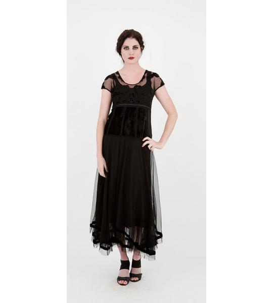 The black vintage dresses for 2014 parties