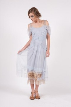 40152 Blue Pampered Doll Nataya Tulle Dress