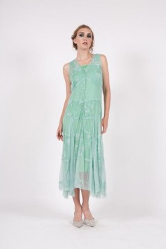 162 Emerald Nataya Lace Dress