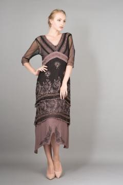 Nataya Titanic Dress 5901 in Black/Coco