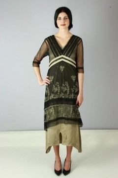 Nataya 5901 Black/Silver Titanic Dress