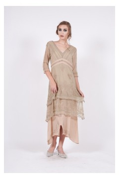 Nataya 5901 Sage/Peach Titanic Dress
