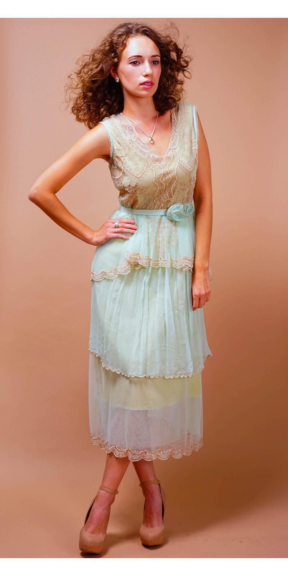 Niedlich Victorian Tea Party Kleider Galerie - Brautkleider Ideen ...