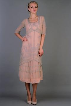 Nataya Titanic Dress AL-2101 in Antique Pink