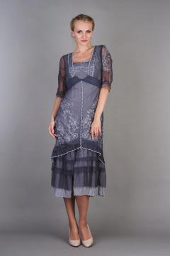 Nataya Titanic Dress AL-2101 in Dark Blue