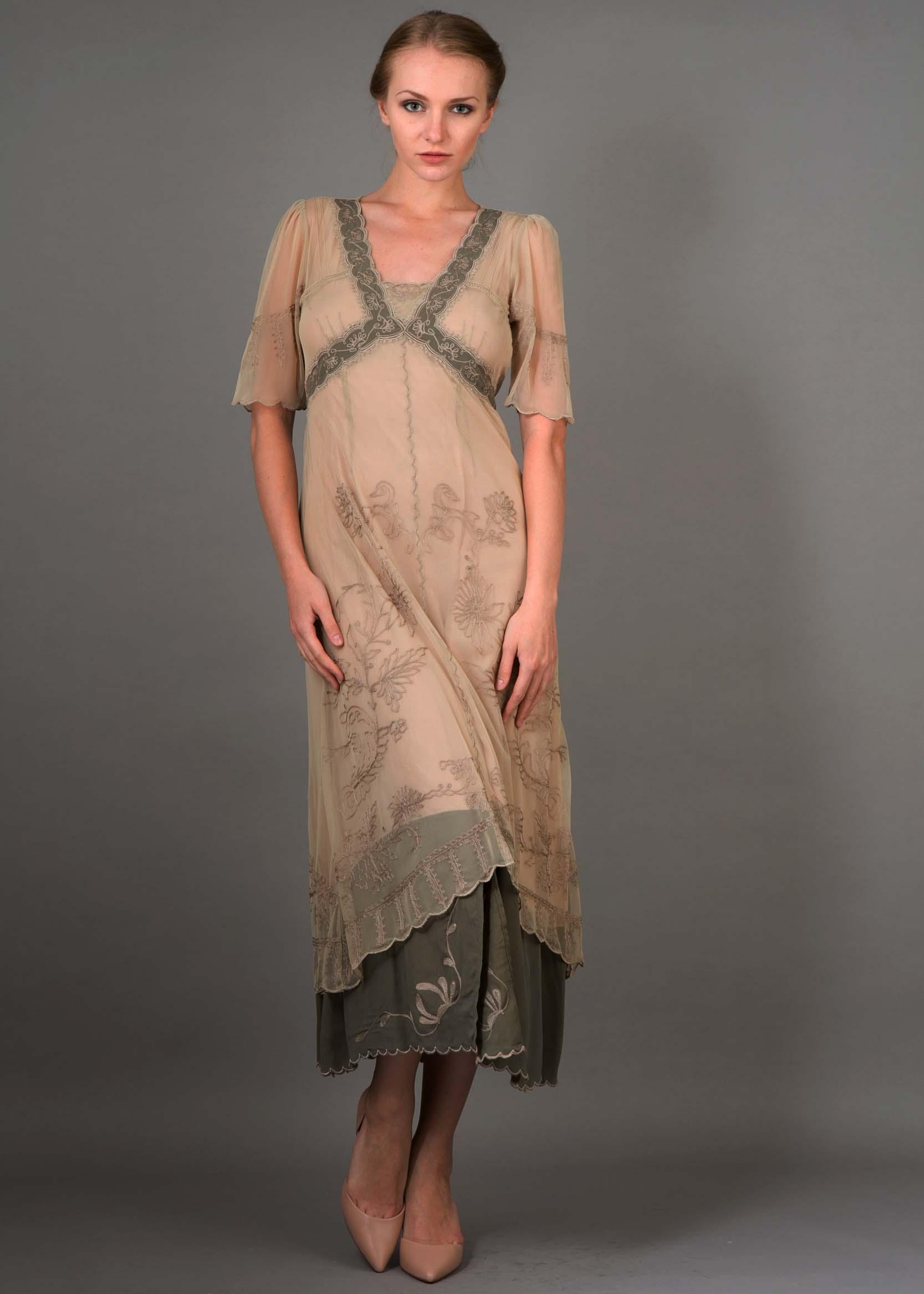 The dress for sale - Nataya Titanic Dress 40007 In Sage