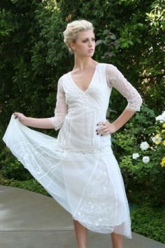Nataya AL-3302 Edwardian Lace Dress