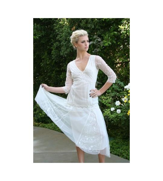 Eduardian Lace Wedding Dress