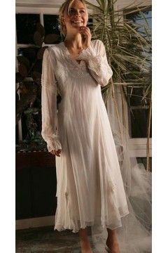 Romantic Victorian Wedding Dress Nataya AL-4402