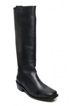 Vintage Style Boots in Black