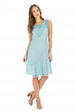 Nataya AL-632 Party Dress in Turquoise