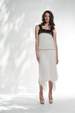 1920 Style Drop Waist Party Dress
