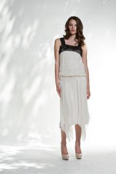 1920s Style Drop Waist Party Dress