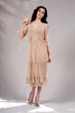 Vintage Style Mother of the Bride Dress