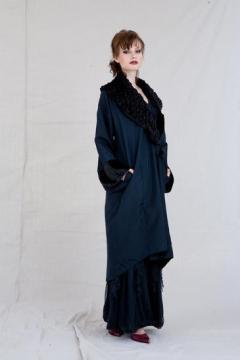 Edwardian Velvet Collar Coat