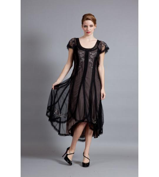 The black dress for the classy Halloween