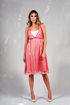 Romantic Garden Party Dress - 40132
