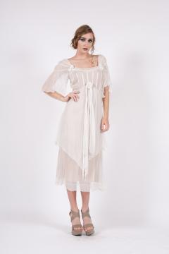 Ivory Vintage Romance Dress