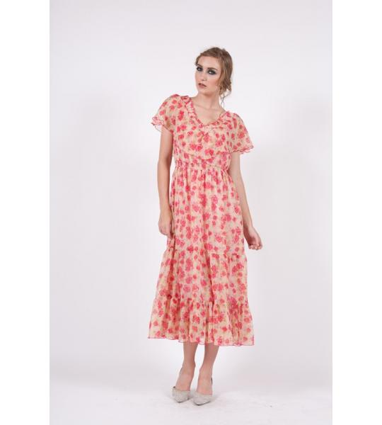 Floral print dress for Summer