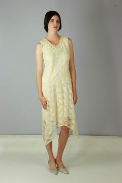 158 Nataya Vintage Bohemian Flapper Dress