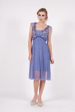 163 Nataya Empire Party Dress