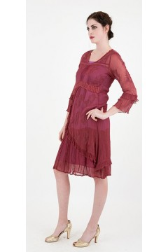 Nataya 170 Chiffon Fall Wedding Guest Dress