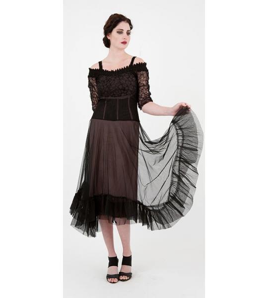 Curvy plus sized dresses by Nataya