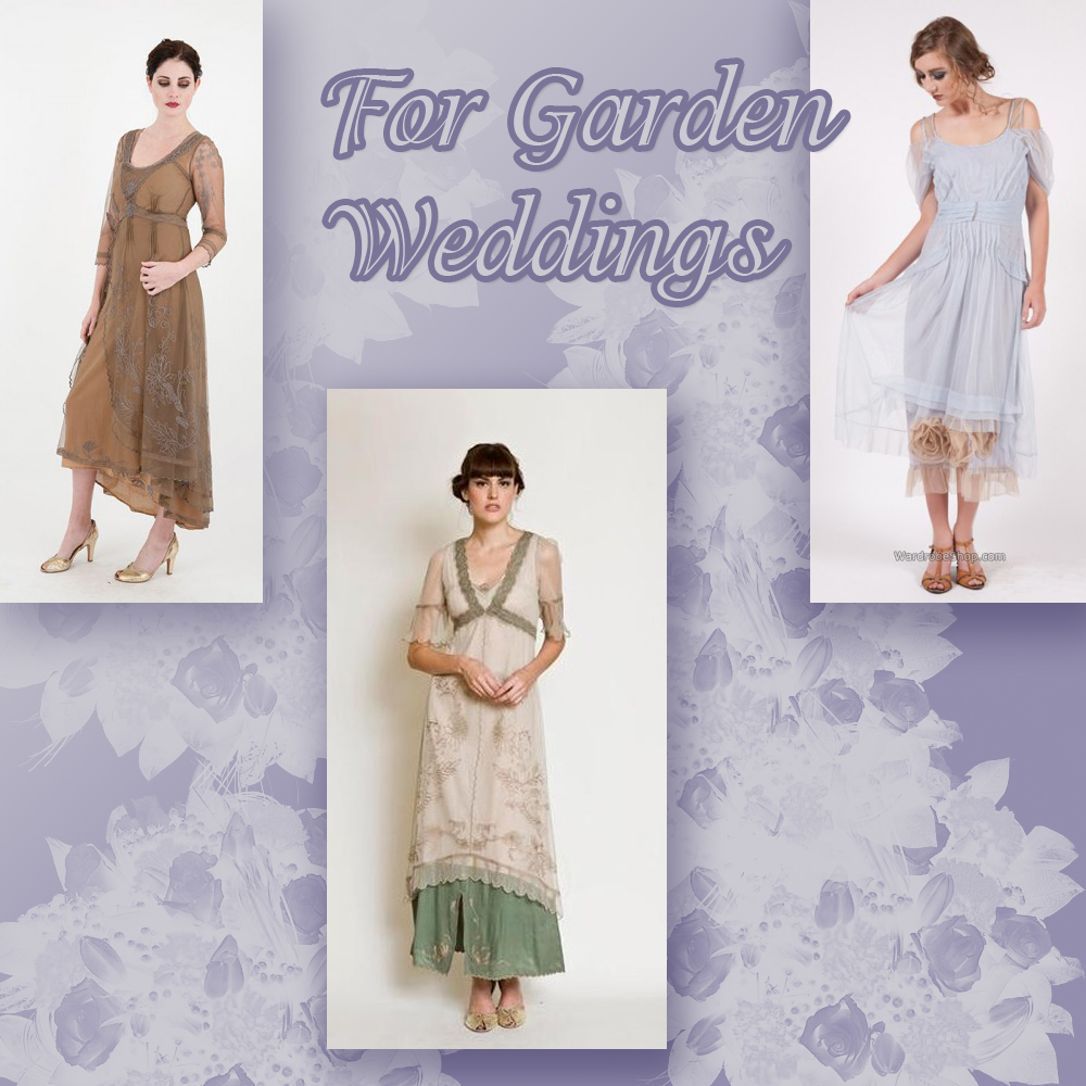 Top 5 Nataya dresses for garden weddings