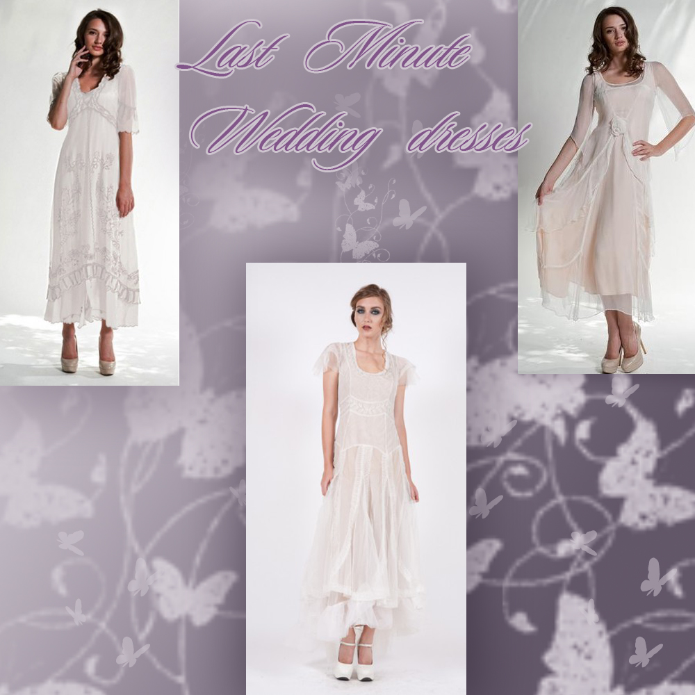 5 last minute wedding dresses by Nataya, Wear-n-go