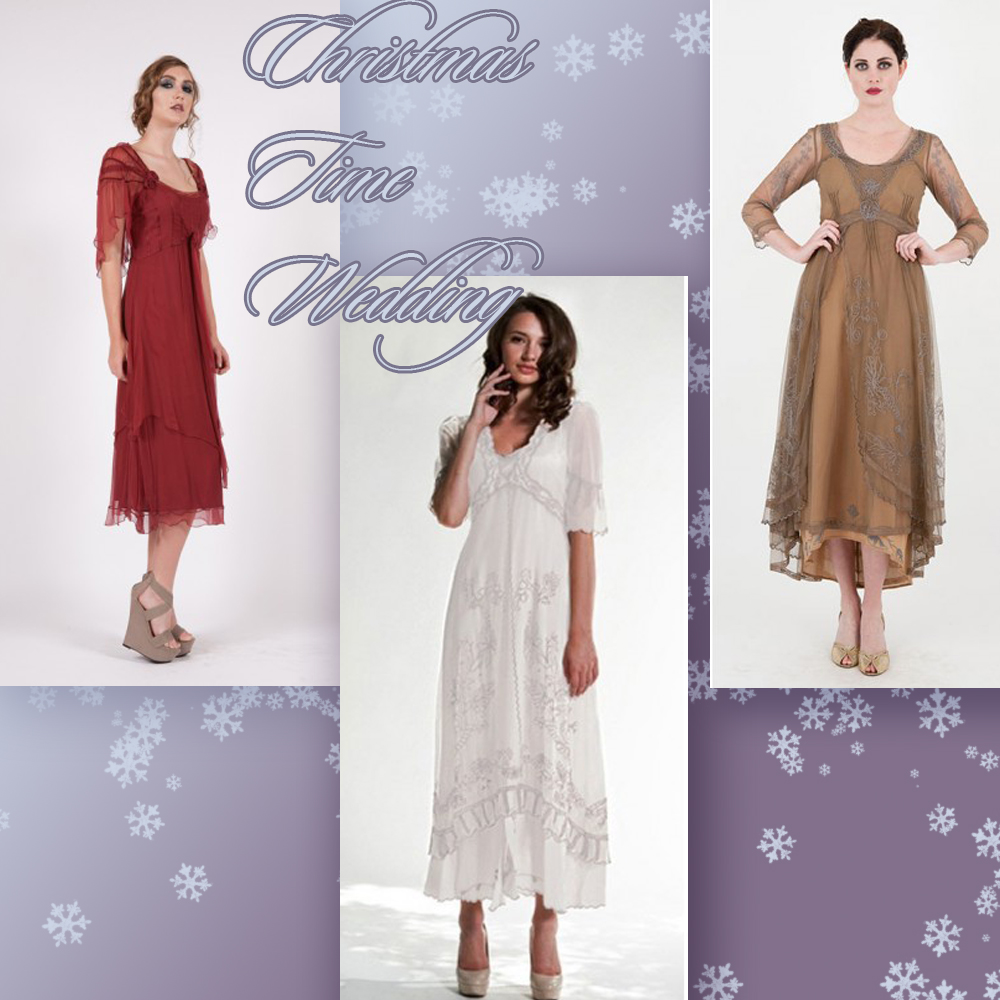 What dresses to choose for the Christmas time wedding