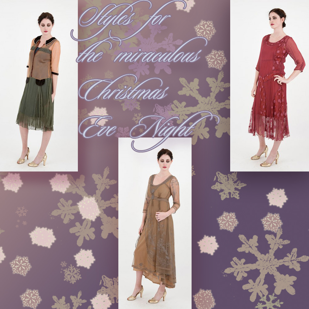 The 5 beautiful styles for the miraculous Christmas Eve Night