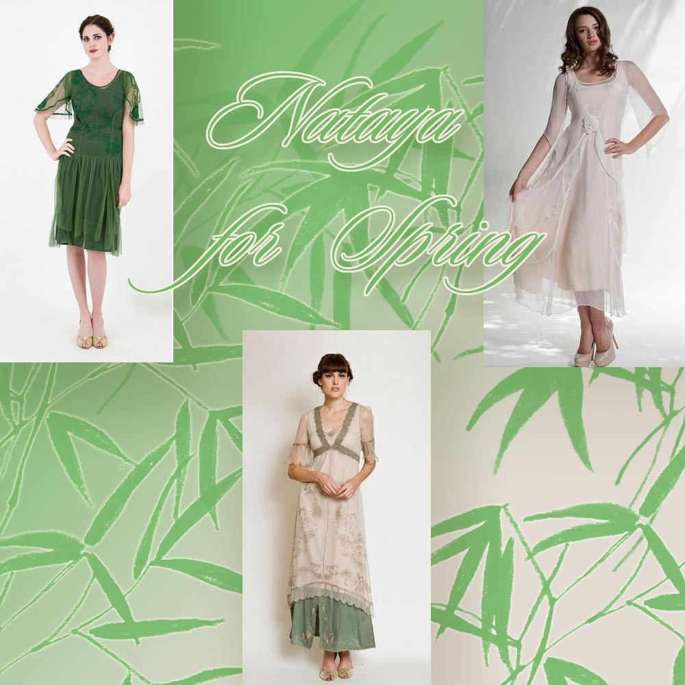 The spring flair dresses by Nataya for new spring events
