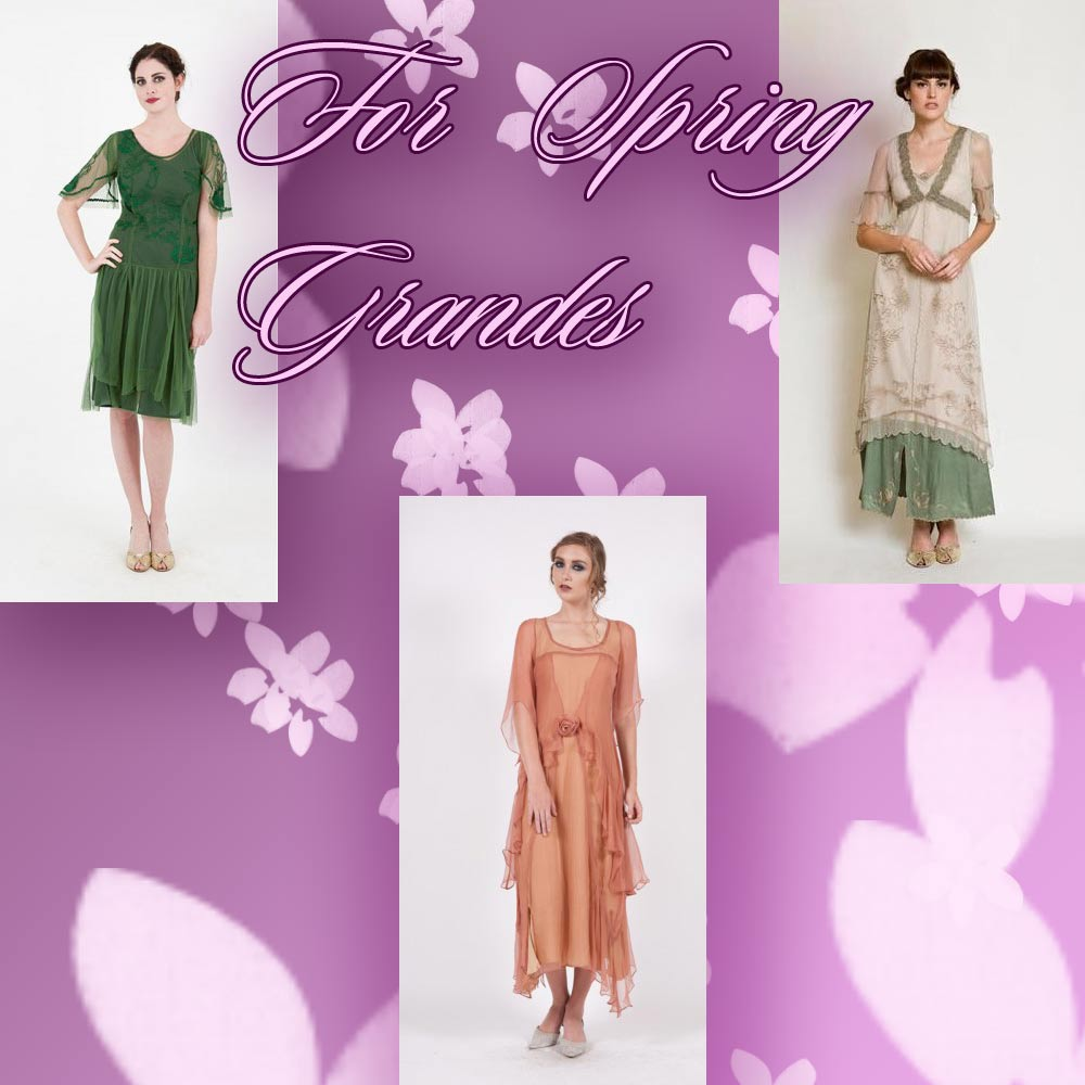 The spring flair dresses by Nataya for new spring grandes