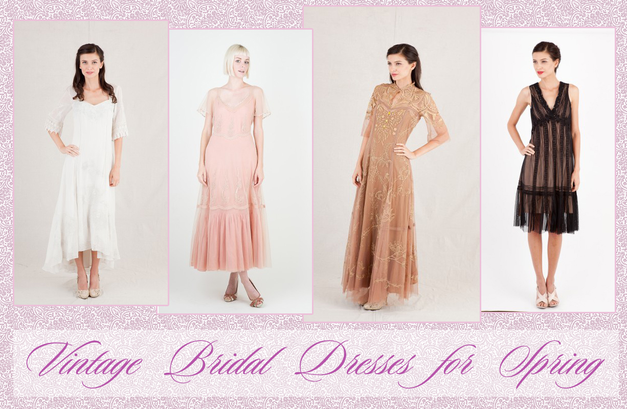 Vintage Bridal Dresses for Spring