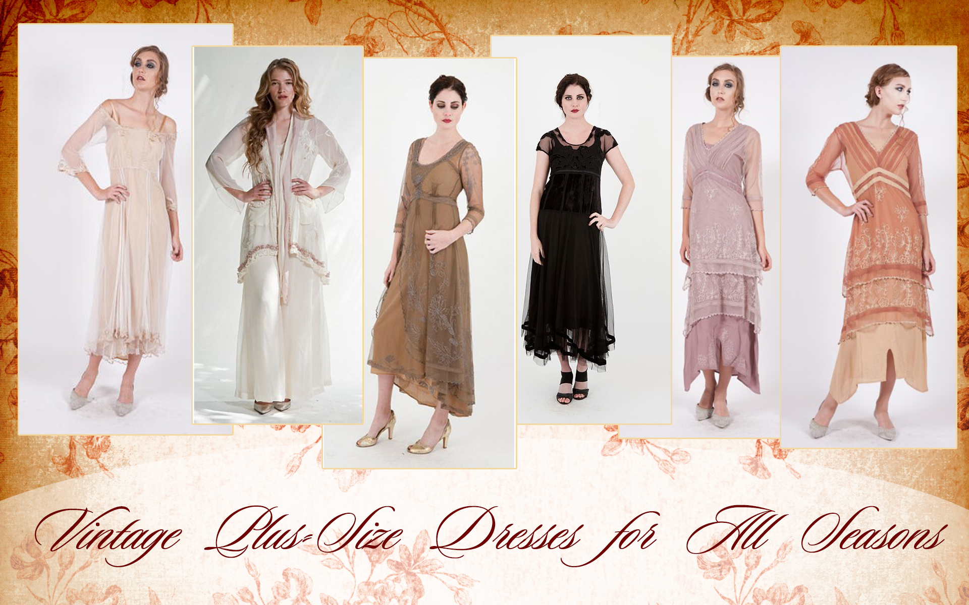 Vintage Style Dresses For Mothers Of The Bride | Nataya Dresses
