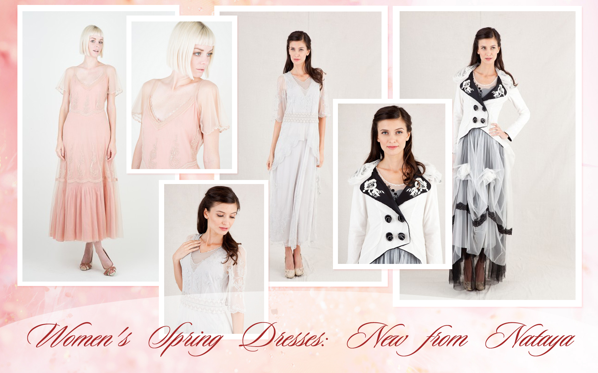 Women's Spring Dresses: New from Nataya