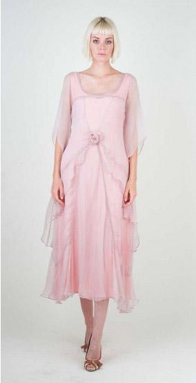 Vintage Pastel Bridesmaid Dresses