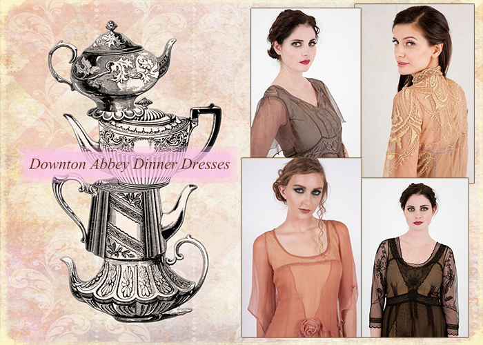 Downton Abbey Dinner Dresses