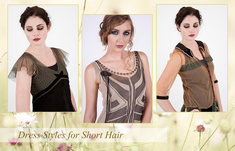 Dress Styles for Short Hair