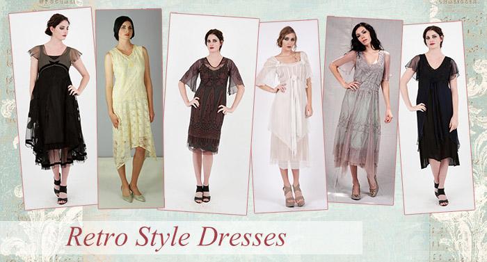 Retro Style Dresses