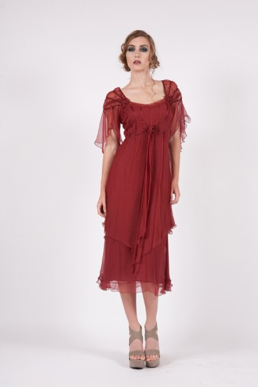 Embroidered Party Dresses