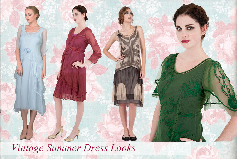 Vintage Summer Dress Looks