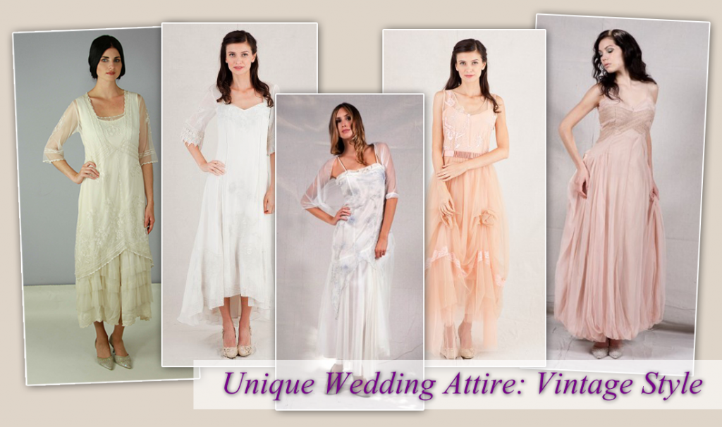 Unique Wedding Attire: Vintage Style