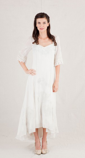 Sleeved Informal Wedding Dresses